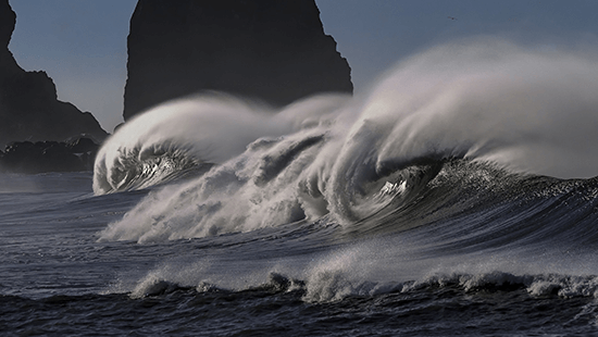 09. It's a turbulent sea out there!