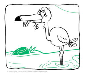 inline image 1 kids story stork and crab panchatantra