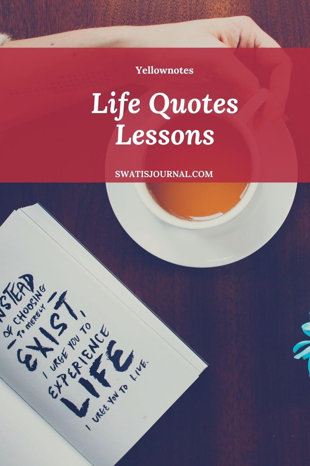 Yellownotes – Daily Quotes | Quote of the Week | March 2020 | Week 04 5 (2)